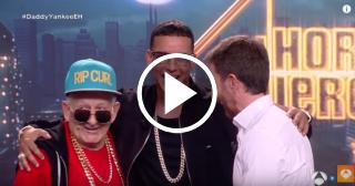 """Daddy Yankee y Daddy Melquiades bailan juntos """"A mi me gusta el Taca Taca"""""""
