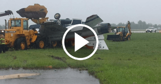 Un avión F-16 se accidenta durante un espectáculo aéreo en EE.UU.