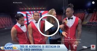 Trío de acróbatas cubanos sorprende al mundo con sus números de alta adrenalina