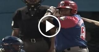 Jonronazo decisivo de Alfredo Despaigne en el décimo inning