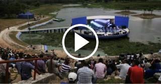 Reabren el anfiteatro del Parque Lenin