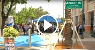 Miami: Inauguran el Boulevard Azúcar en la Calle Ocho