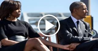 La historia de amor entre Michelle Obama y Barack Obama ya está en las pantallas.