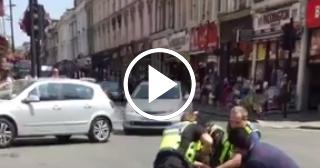"""Un hombre ataca en Londres a un oficial de la policía al grito de """"Alá es grande"""""""