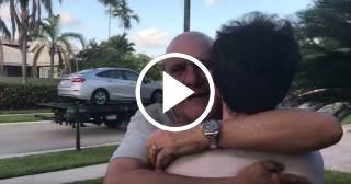 Carlos Otero emociona a su hijo con una sorpresa inolvidable
