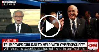Giuliani asesorará a Trump sobre ciberterrorismo
