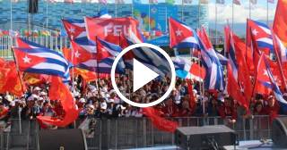 En medio de la crisis económica Cuba asiste al Festival de la Juventud y los Estudiantes en Rusia con una delegación gigante