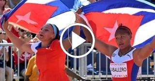 Medallas de plata y bronce para Cuba en disco (F) del Diamante de Birmingham