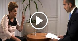 Dilma Rousseff defiende a Fidel Castro ante un periodista de Al Jazeera