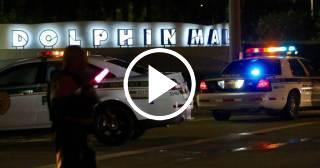 Evacúan el Dolphin Mall de Miami, tras reportarse un supuesto tiroteo dentro