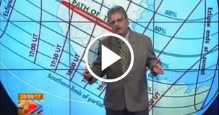 El eclipse solar explicado por José Rubiera