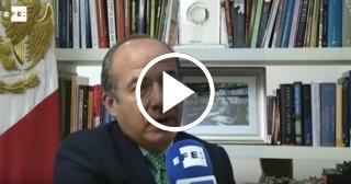 """Felipe Calderón critica que las expectativas de cambio en Cuba """"se hace añicos"""""""