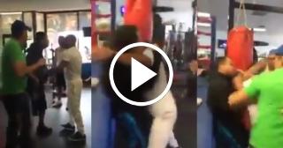 Yuriorkis Gamboa se pelea en su gimnasio de Miami