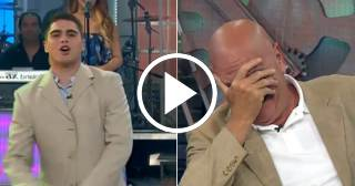 El hijo menor de Carlos Otero debuta como presentador en el programa de su padre