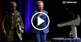 Clinton pronuncia emocionada su primer discurso tras ser derrotada por Donald Trump