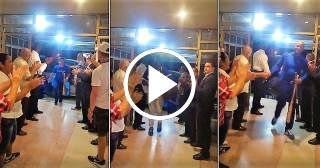 Hermoso gesto de los trabajadores del Hotel Las Tunas con los Industriales