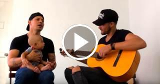 Lo más tierno: Leoni Torres le canta a su hijo más pequeño Samuel