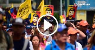 Miles de venezolanos marcharon hasta las puertas de la cárcel militar donde se encuentra Leopoldo López