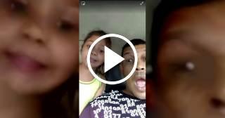 La hija del humorista Limay Blanco lo regaña por decir malas palabras