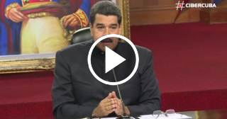 """""""Solo agua y gasecito"""": Maduro asegura que contra las protestas están prohibidas las armas de fuego"""