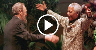 La Fundación Nelson Mandela recuerda a Fidel Castro
