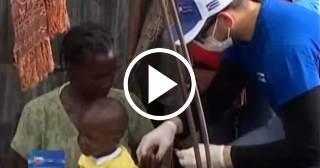 Médicos cubanos salvan a haitianos del cólera y de la muerte