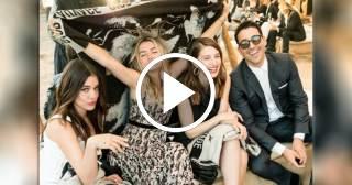 Ana de Armas, Miguel Ángel Silvestre, María Valverde y Adriana Ugarte deslumbran en el Desfile Crucero Dior 2018