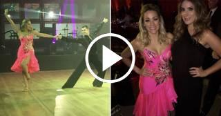 El precioso baile de Gloria Ordaz en la Gala de la Asociación Americana del Cáncer