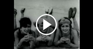 Asi era una promoción en los años 30 de la playa de Guanabo