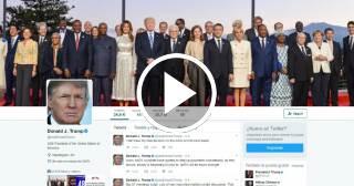 La Casa Blanca planea contratar abogados para que revisen los tuits de Trump