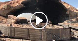 Así quedó la base aérea siria tras el ataque de Estados Unidos