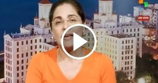 """TeleSUR: """"Cubanos celebran fin de política pies secos, pies mojados"""""""