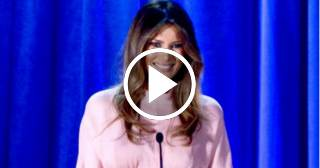 "Primer discurso de Melania Trump como Primera Dama: ""Seré fiel a mí misma"""