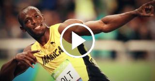 Homenaje de la IAAF a Usain Bolt en su despedida