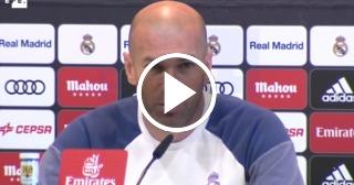 """Zidane reconoce que """"el triplete es el objetivo"""""""
