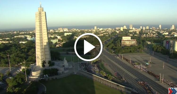 [EN VIVO] Desfile Militar en la Plaza de la Revolución