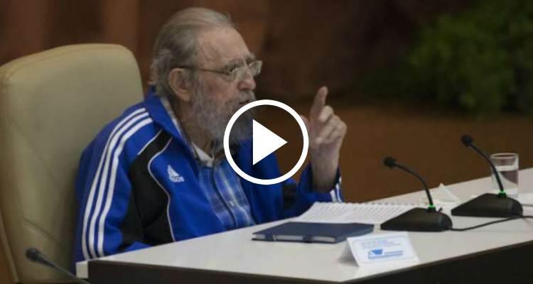 Discurso completo de Fidel Castro en la clausura del VII Congreso del PCC