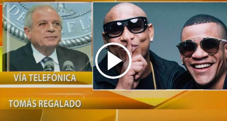 """Tomás Regalado: """"Es inmoral que Gente de Zona gane dinero en Miami y vaya a cantar a Cuba"""""""