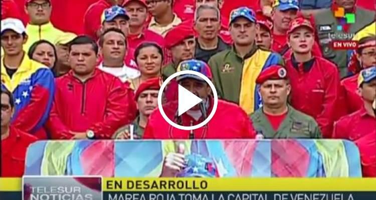 """[EN DIRECTO] Maduro, tras la muerte de un manifestante: """"Defendimos la revolución en la calle"""""""