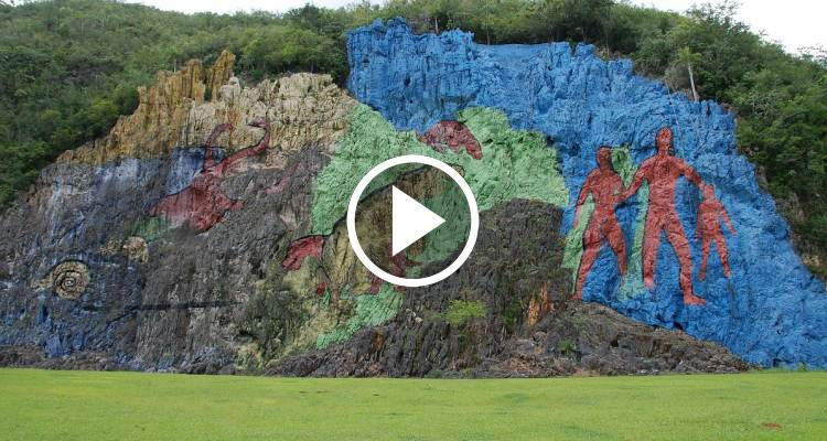 Una maravilla de cuba el mural de la prehistoria en for El mural pelicula