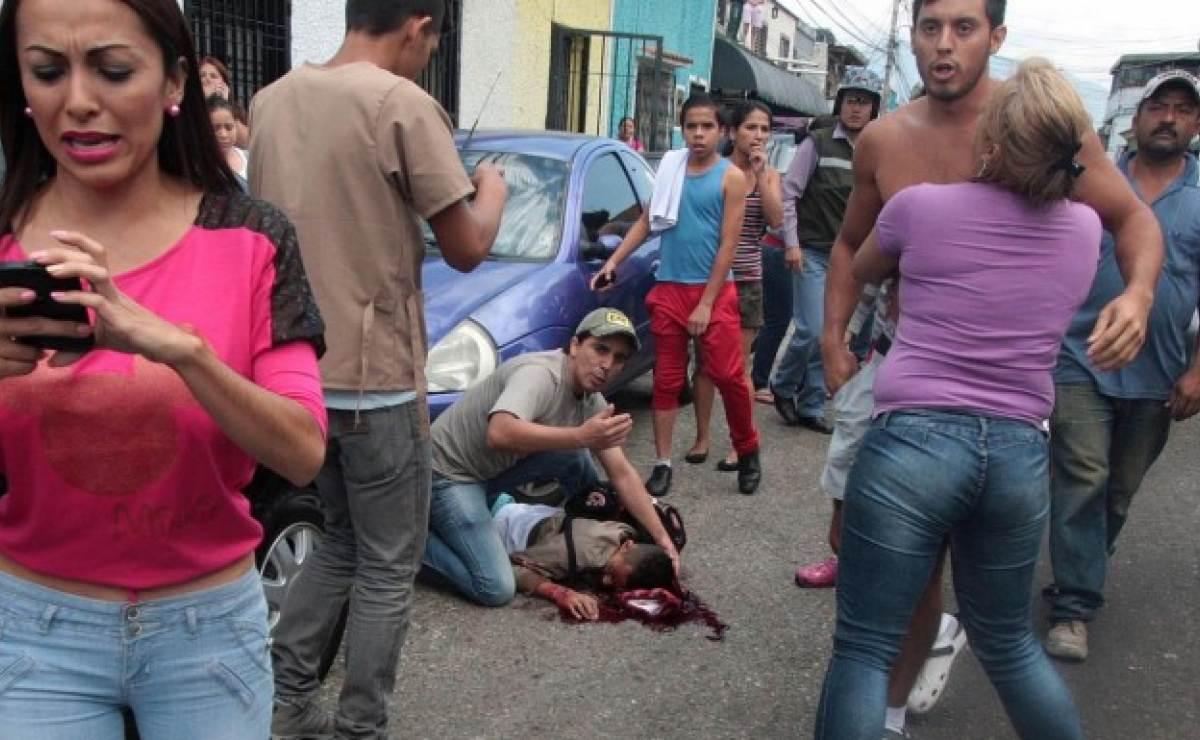 Resultado de imagen para Muere otro joven por un disparo venezuela