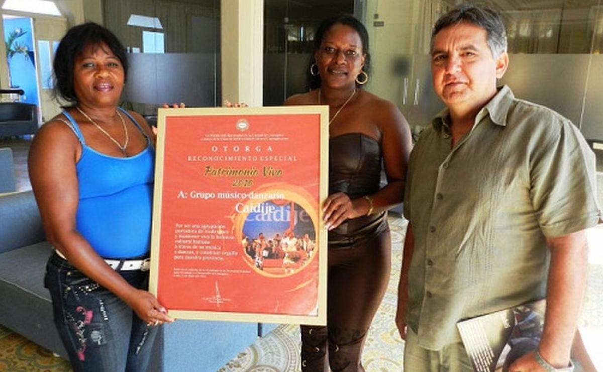 Otorgan en Camagüey reconocimiento a grupo que rescata tradiciones haitianas