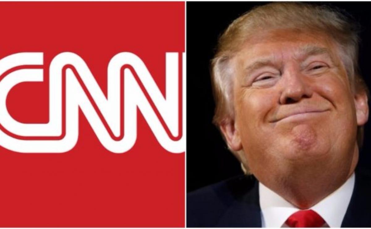 CNN responde oficialmente a acusación de Donald Trump