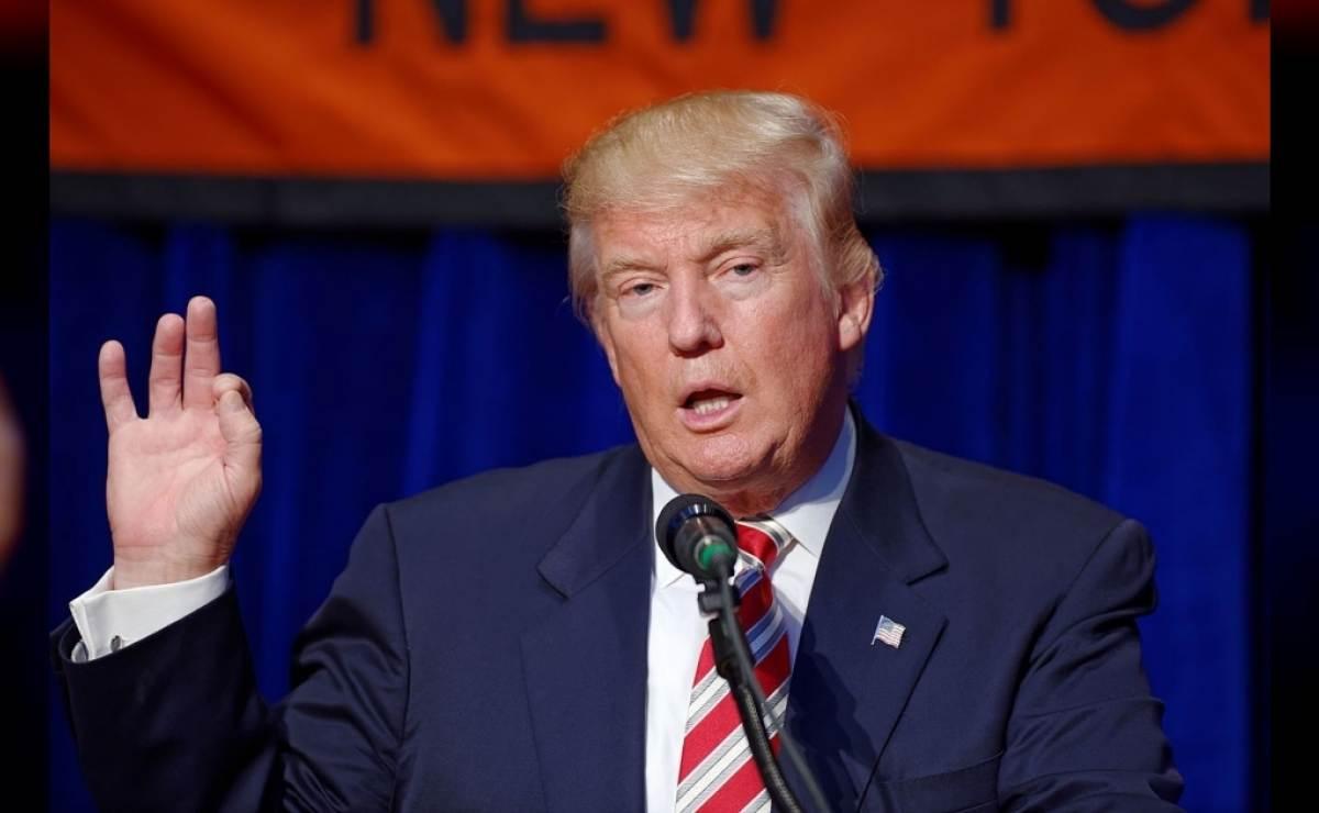 """Trump: """"La migración en cadena es un desastre para este país y se va a terminar"""""""