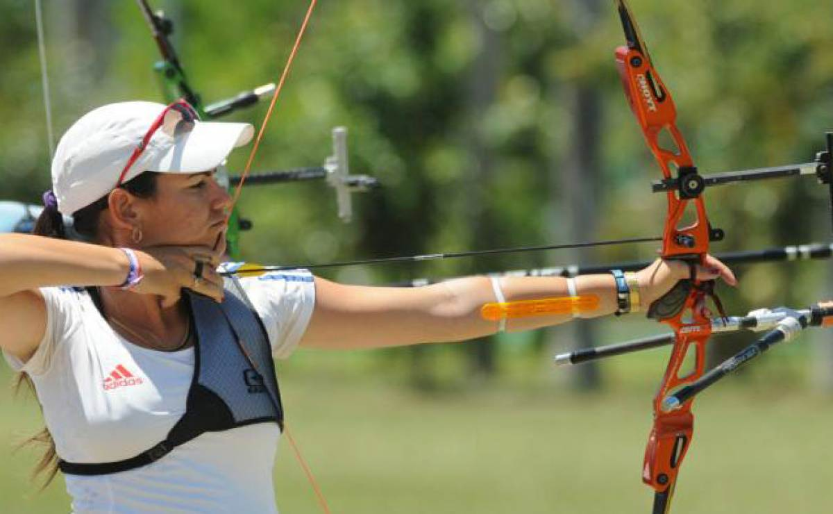 Optimistic young Cuban archer in the face of global competition