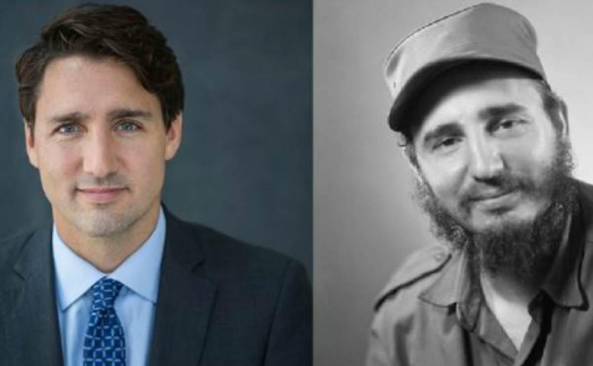 Parecido entre Fidel Castro joven y Justin Trudeau activa las redes