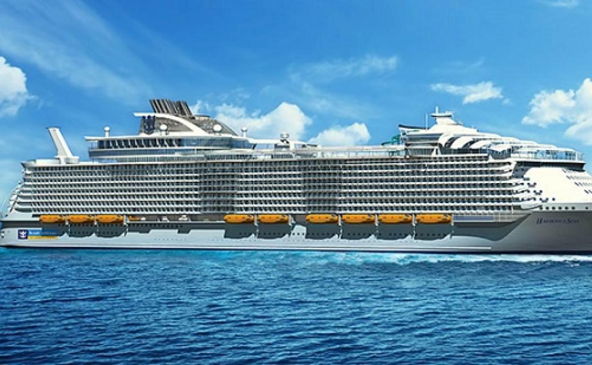 Royal Caribbean, con ruta a Cuba, está construyendo el crucero más grande del mundo