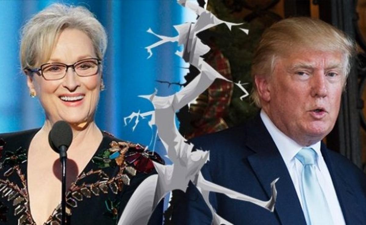 """Hollywood y Trump inician """"tiradera"""" que puede durar cuatro años"""