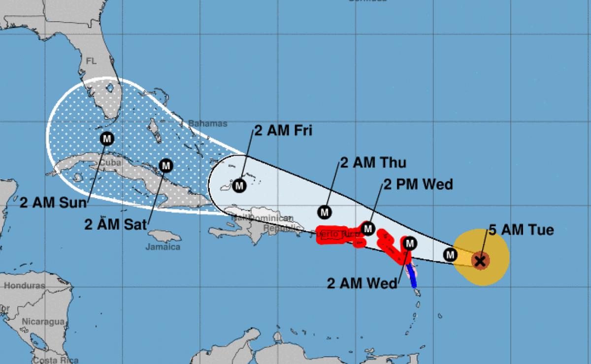 Resultado de imagen para imagenes del huracan irma