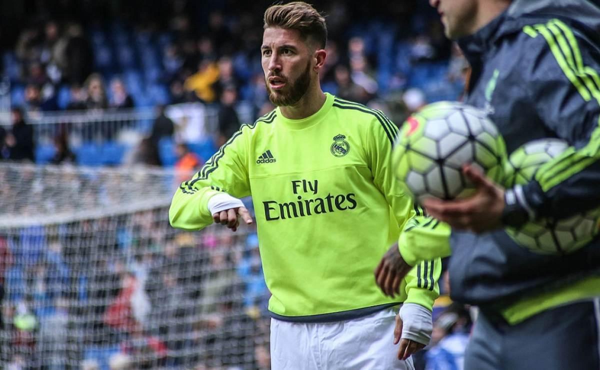Sergio Ramos se lesionó y estará dos semanas sin jugar